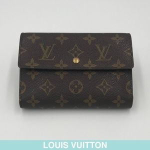 Louis Vuitton Monogram tri-fold wallet